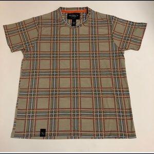 Brooklyn Standard Mens T Shirt  Plaid Multicolor